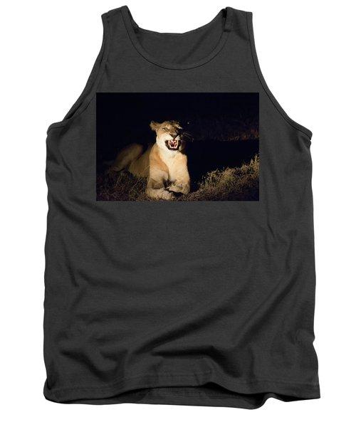 Nightmare Lioness Tank Top