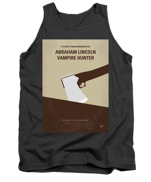 No1009 My Abraham Lincoln Vampire Hunter Minimal Movie Poster Tank Top