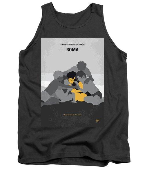 No1035 My Roma Minimal Movie Poster Tank Top