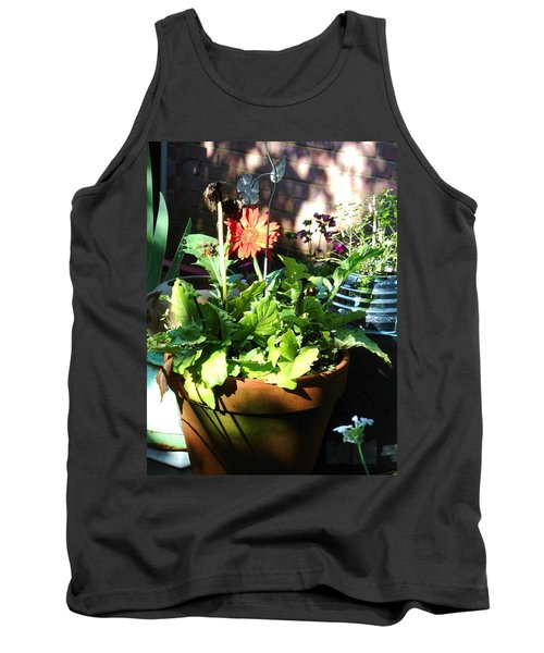 Old Pots New Blooms Tank Top