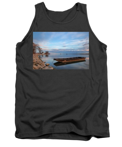 On The Shore Of The Lake Tank Top