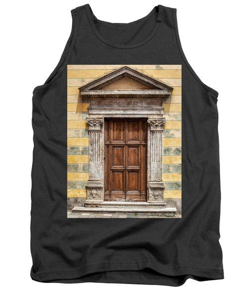 Ornate Door Of Tuscany Tank Top
