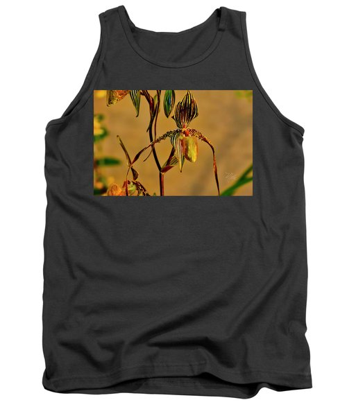 Orchid Study Eight Tank Top