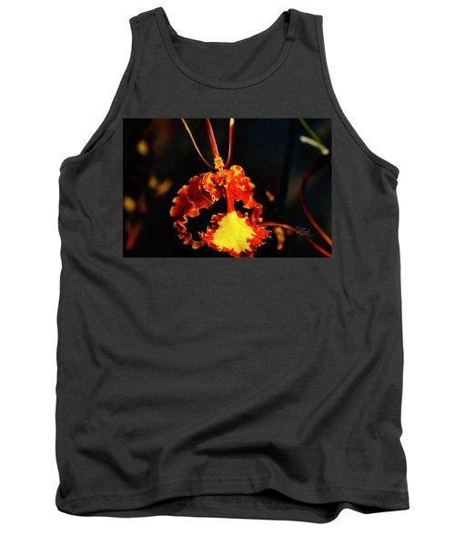 Orchid Study Four Tank Top