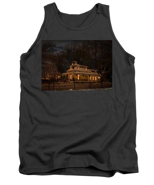 Painted Lady In Winter Tank Top