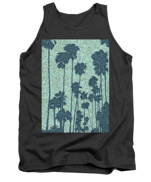 Palms Over Palisades No. 2 Tank Top