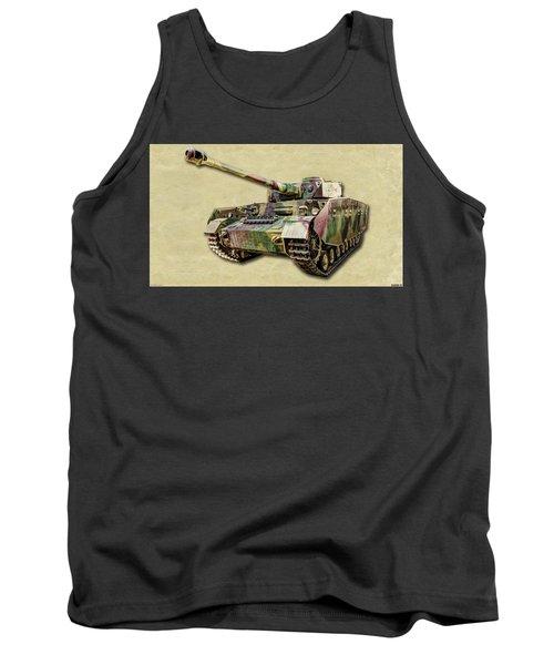 Panzer Iv Canvas Tank Top