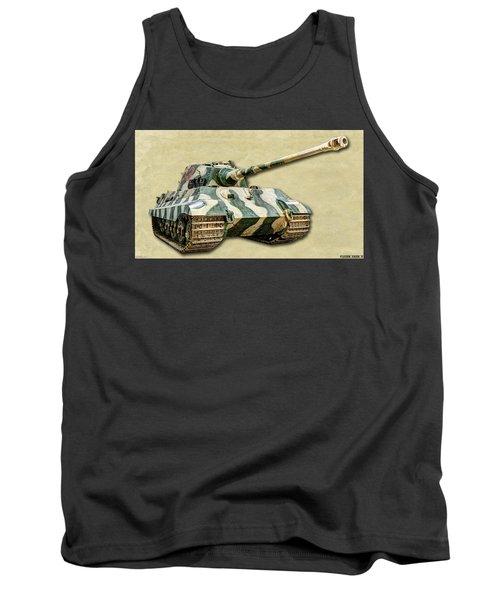 Panzer Vi Tiger II Canvas Tank Top