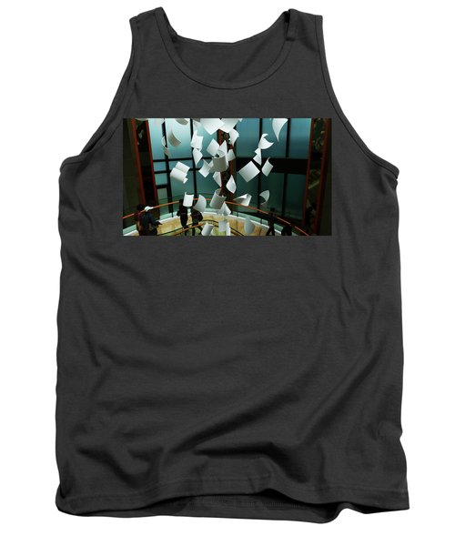 Papers Tank Top