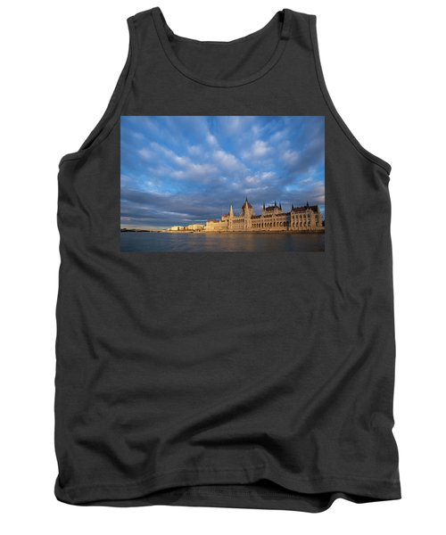 Parliament On The Danube Tank Top