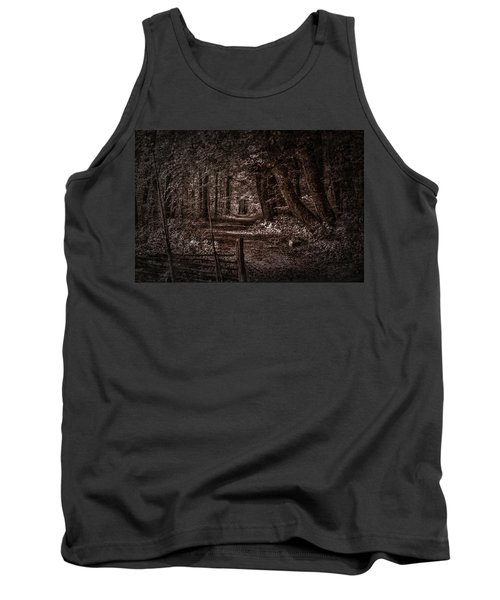 Path In Forest #i0 Tank Top