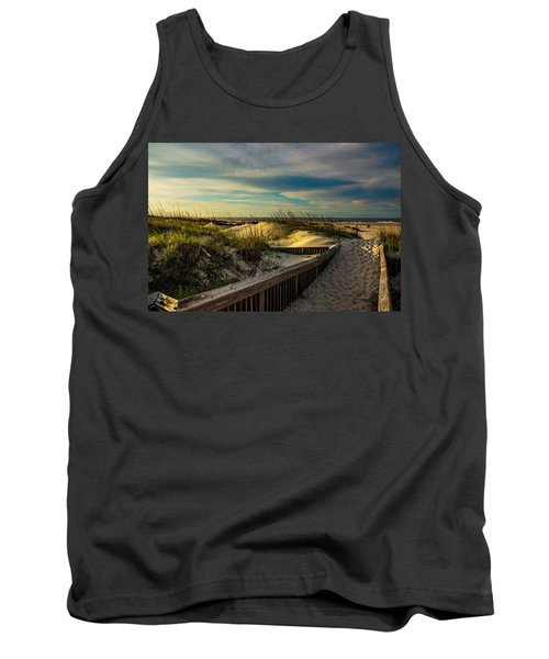 Path To The Beach  Tank Top