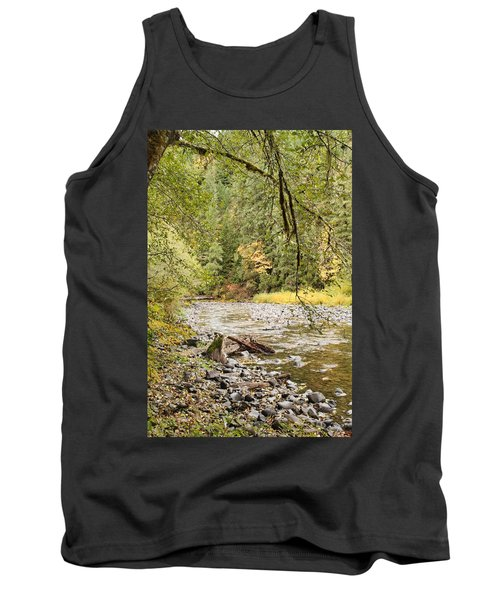 Peaceful Molalla River Tank Top