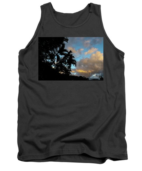 Peach Sunset  Tank Top