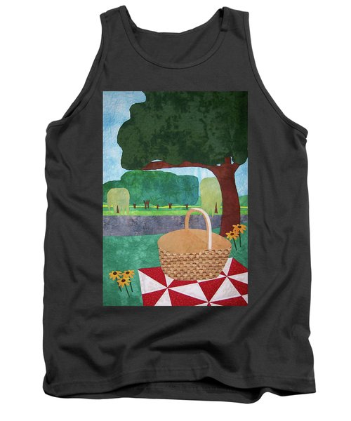 Picnic At Ellis Pond Tank Top