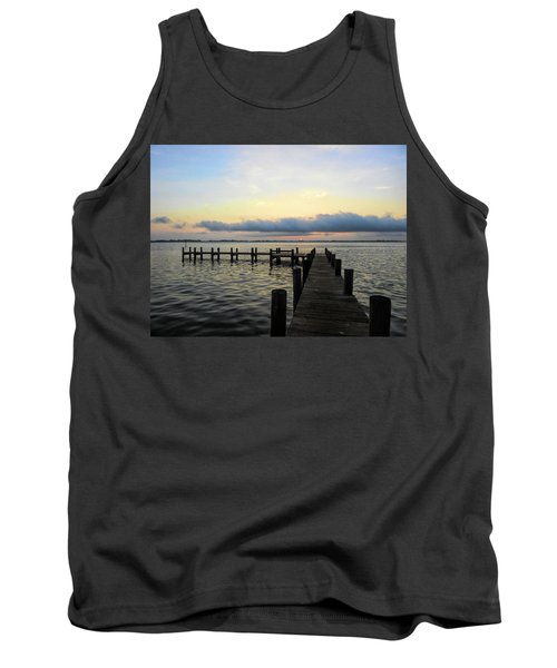 Pier Into Morning Tank Top