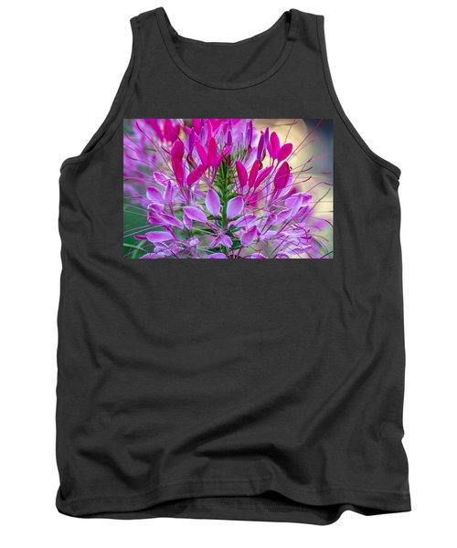 Pink Queen Flower Tank Top