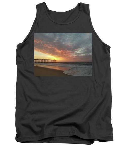 Pink Rippling Clouds At Sunrise Tank Top