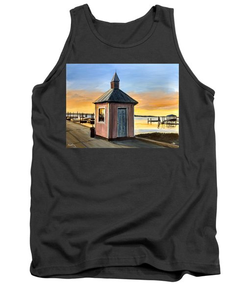 Pink Shed Tank Top