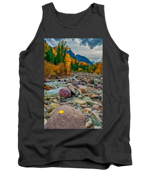 Point Of Color Tank Top
