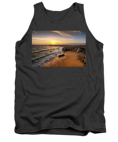 Pointe Du Percho And Port Blanc Tank Top