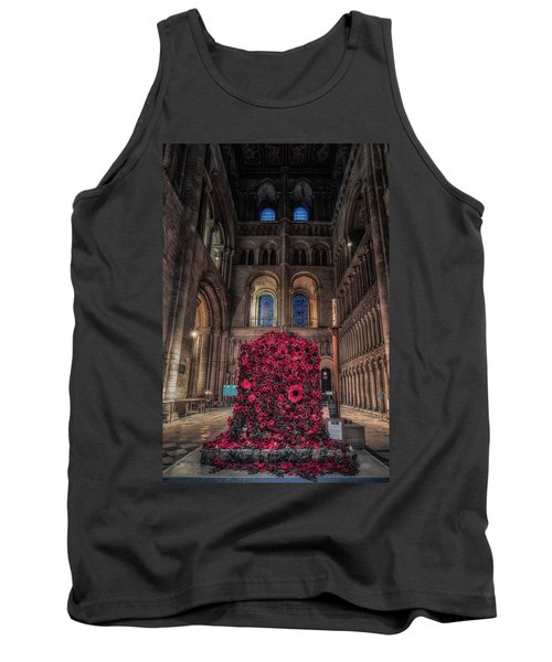 Poppy Display At Ely Cathedral Tank Top