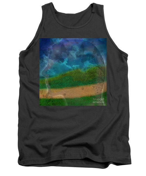 Portrait Of Time Tank Top
