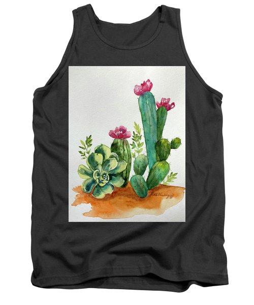 Prickly Cactus Tank Top