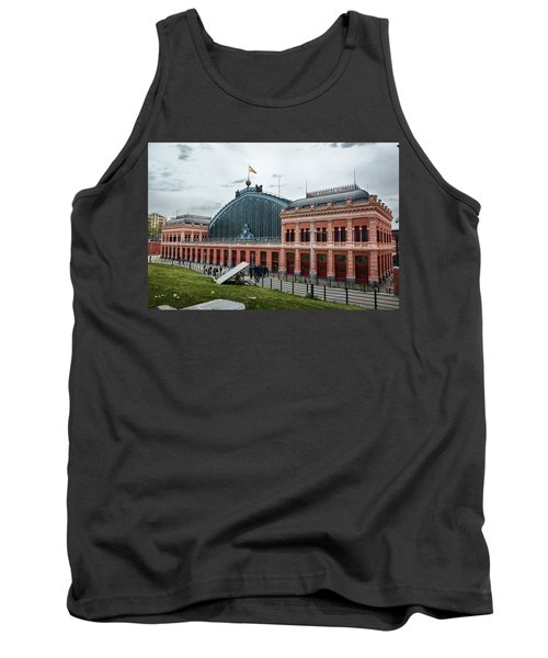 Puerta De Atocha Railway Station Tank Top