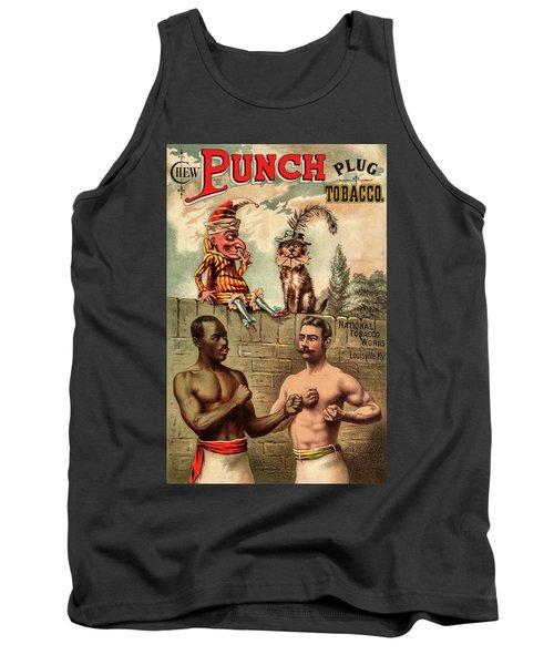 Punch Plug Tobacco Tank Top