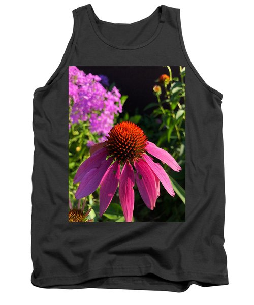 Tank Top featuring the photograph Purple Coneflower by Lukas Miller