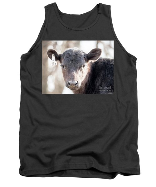 R181 Cow Tank Top