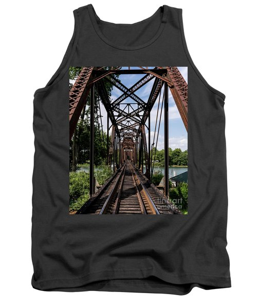 Railroad Bridge 6th Street Augusta Ga 1 Tank Top