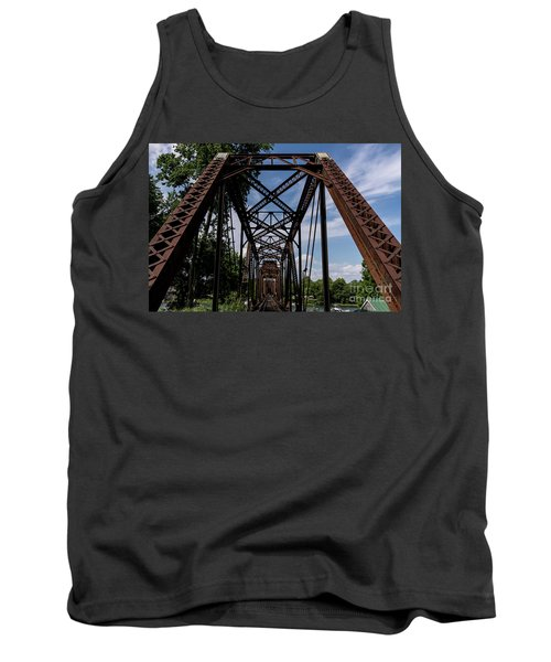 Railroad Bridge 6th Street Augusta Ga 2 Tank Top