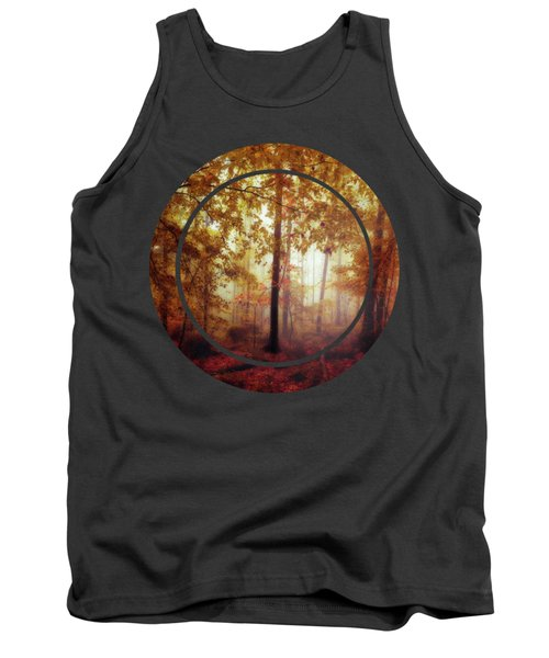 Rain Whispers - Misty Fall Forest Tank Top