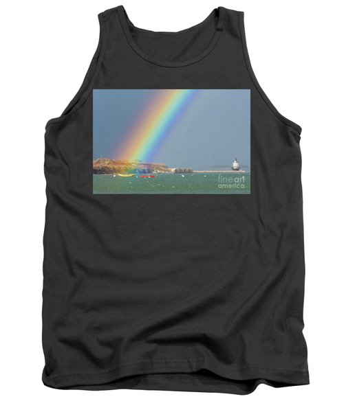 Rainbow At Spring Point Ledge Tank Top