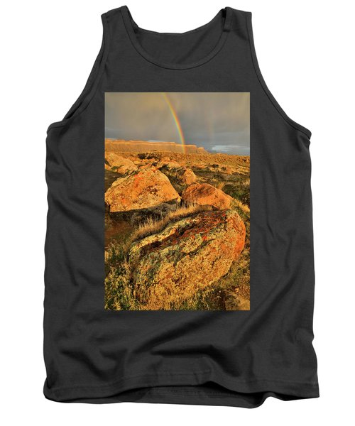 Rainbow Over The Book Cliffs Tank Top