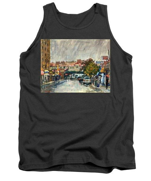 Rainy Morning 231st Street The Bronx Tank Top