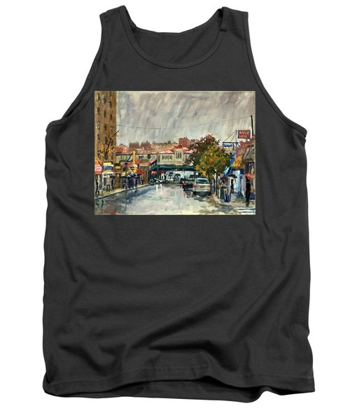 Rainy Morning 231st Street The Bronx Tank Top