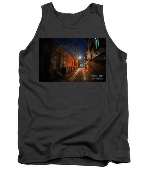Red Alley Tank Top