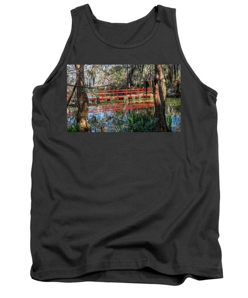 Red Path Tank Top