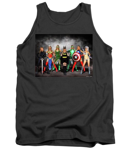 Reflections Of A Hero Tank Top