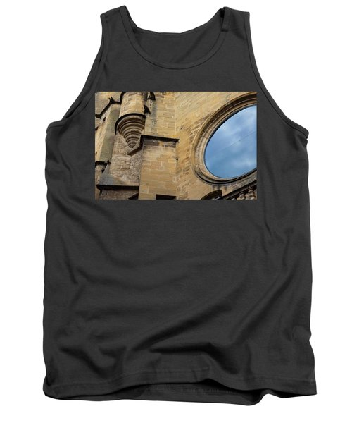 Reflection, Sarlat, France Tank Top
