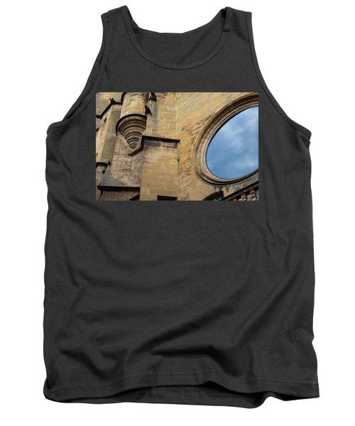 Reflection, Sarlat, France Tank Top