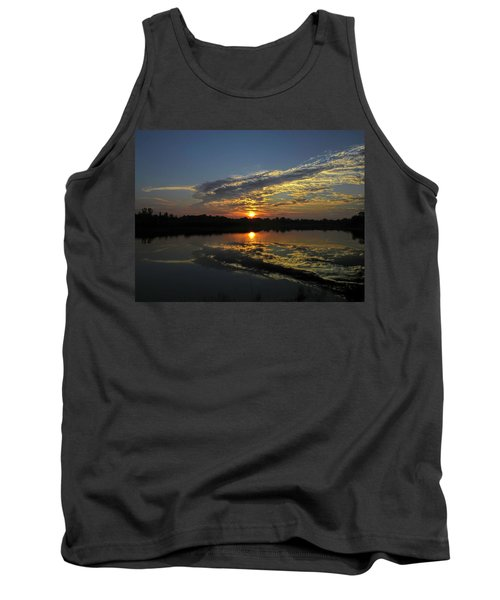 Reflections Of The Passing Day Tank Top