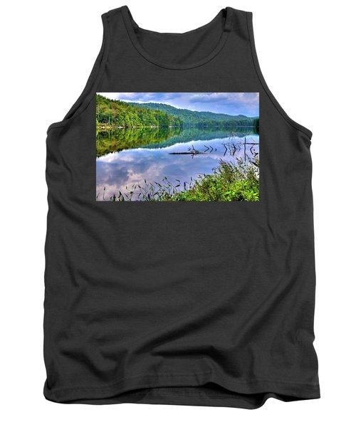 Tank Top featuring the photograph Reflections On Sis Lake by David Patterson