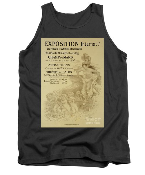 Reproduction Of A Poster Advertising An International Exhibition Of Commercial And Industrial Produ Tank Top