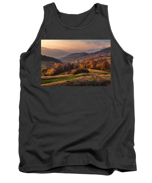 Rhodopean Landscape Tank Top