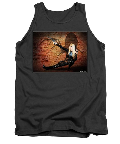 Rise Of The Black Widow Tank Top