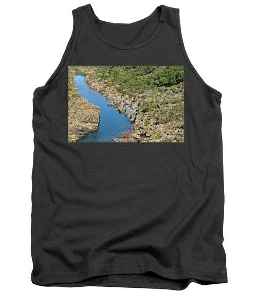 River On The Rocks. Color Version Tank Top
